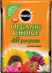 Miracle-Gro Organic Choice Peat Free Compost
